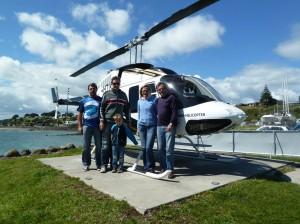 Helicopter Mt Taranaki